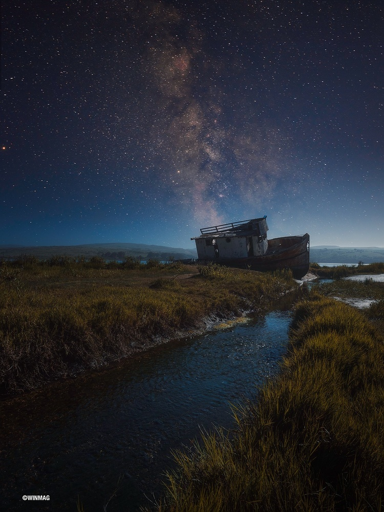 Point Reyes Shipwreck by Win Mag