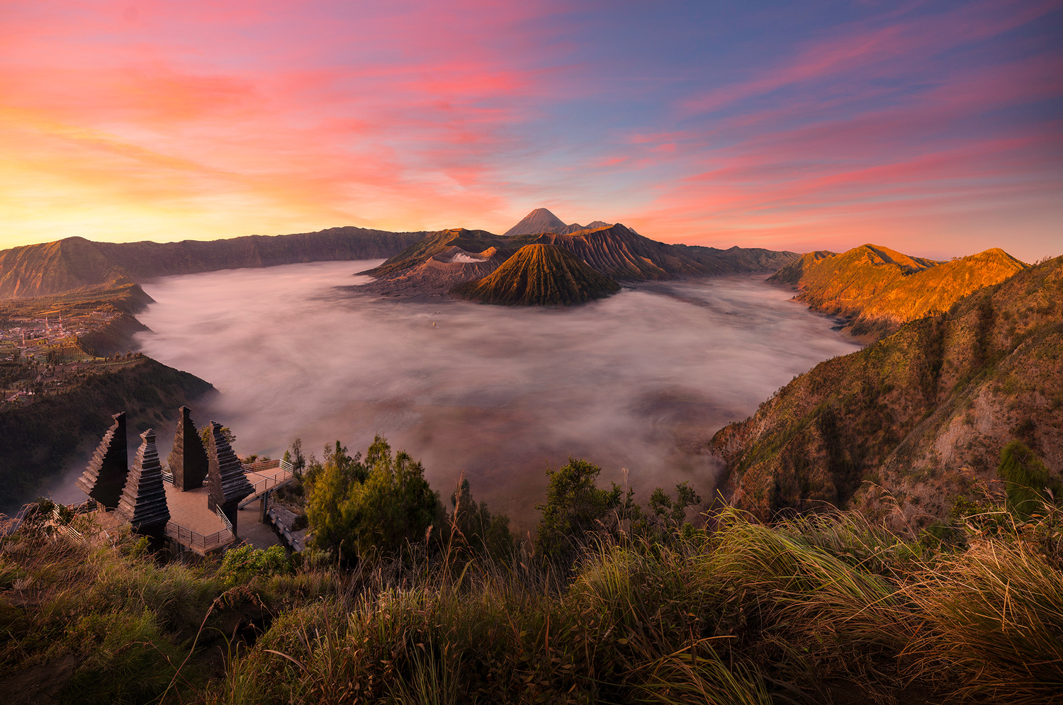 Mt. Bromo by Win Mag