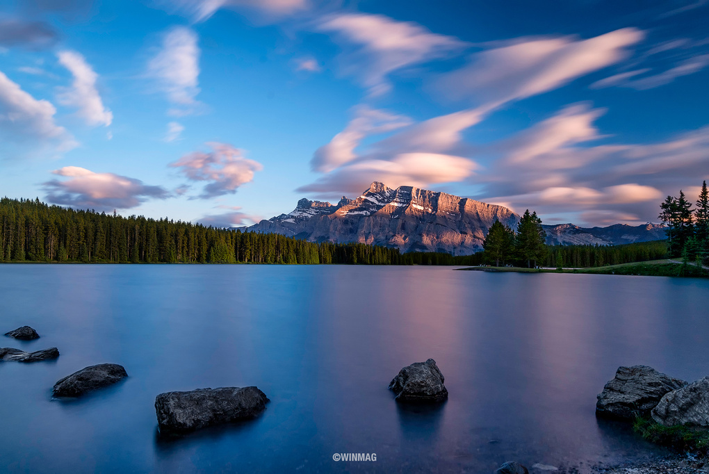 Two Jack Lake by Win Mag