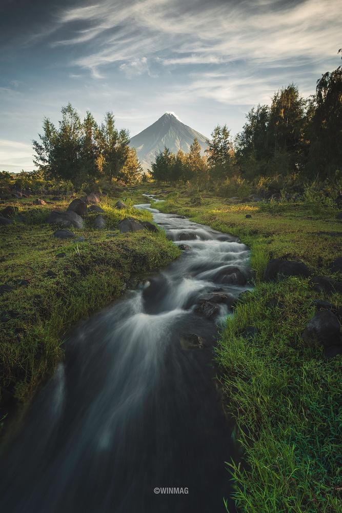 Good Morning, Mayon by Win Mag