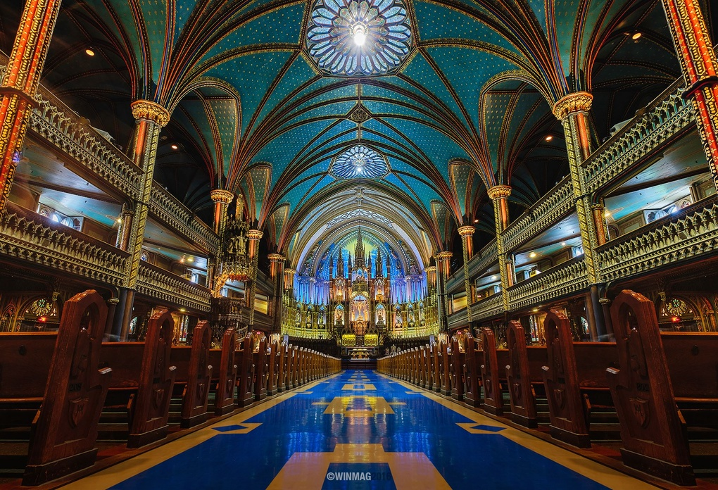 Notre-Dame Basilica by Win Mag
