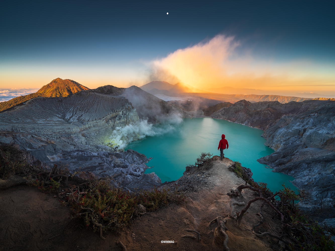 Mighty Ijen by Win Mag