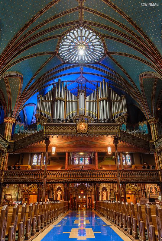 Notre-Dame Basilica by Sherwin Magsino
