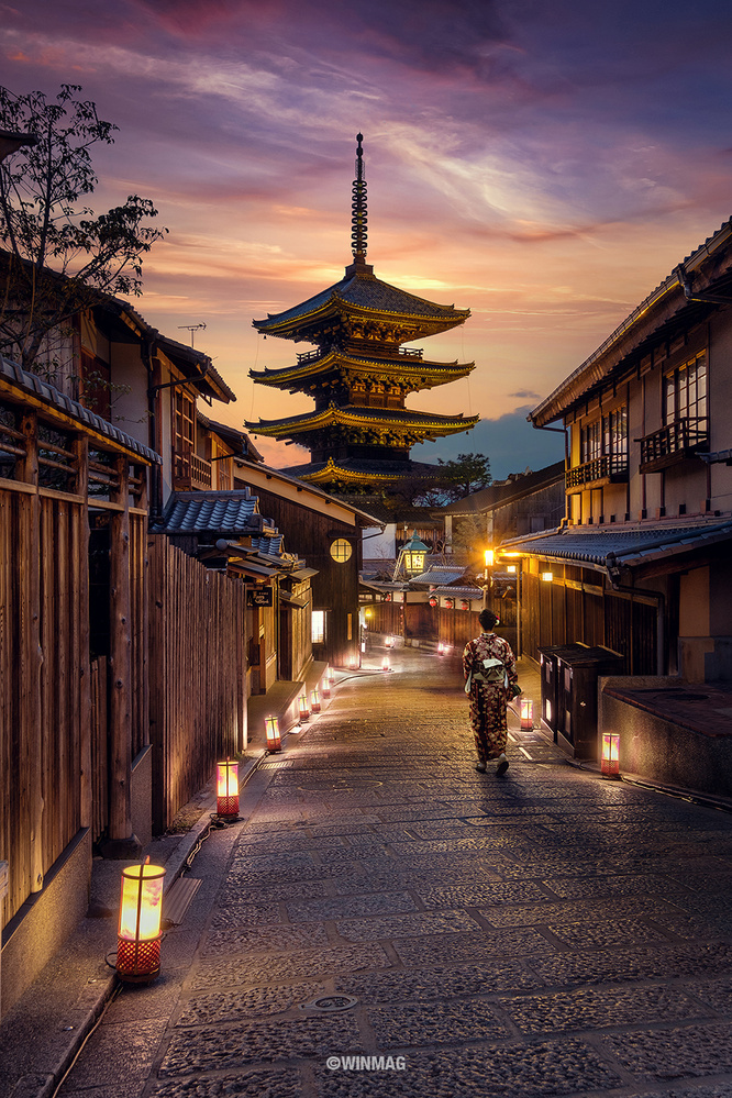 The Path to Yasaka by Win Mag