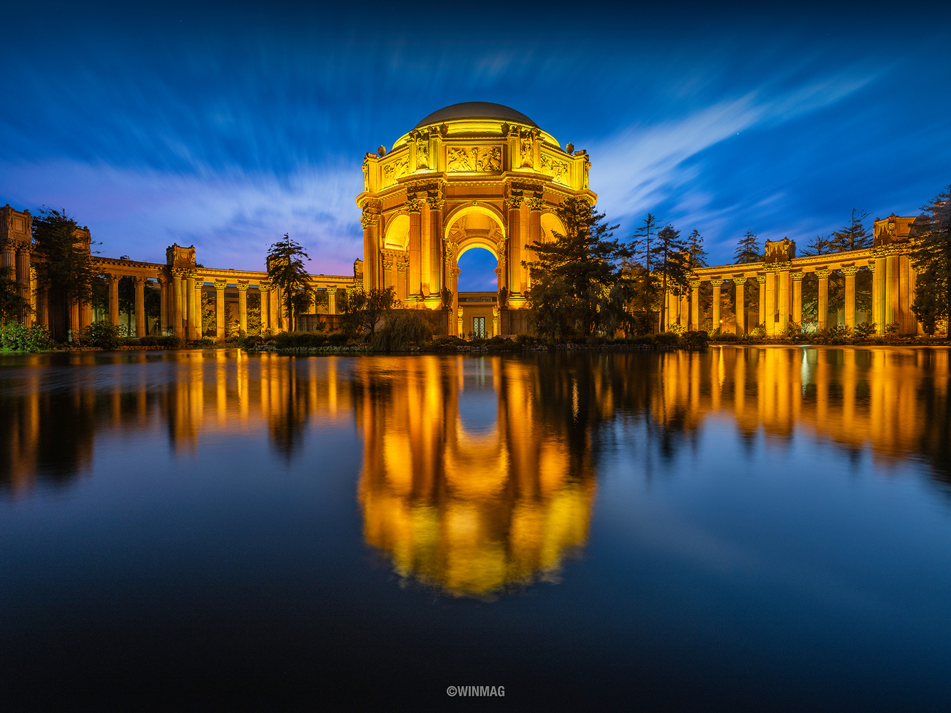 Palace of Fine Arts by Win Mag