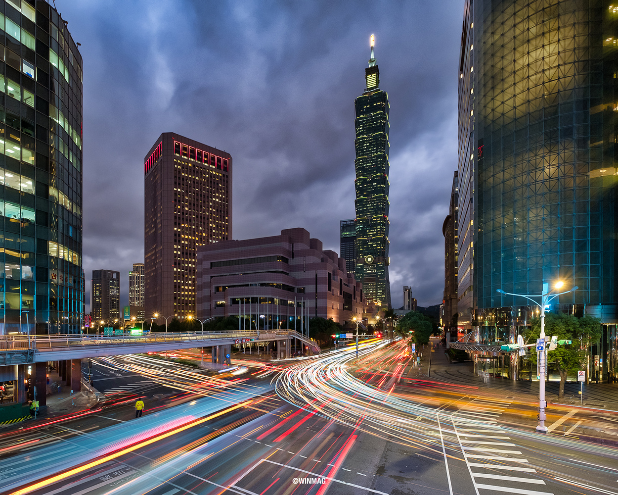 Taipei 101 by Win Mag