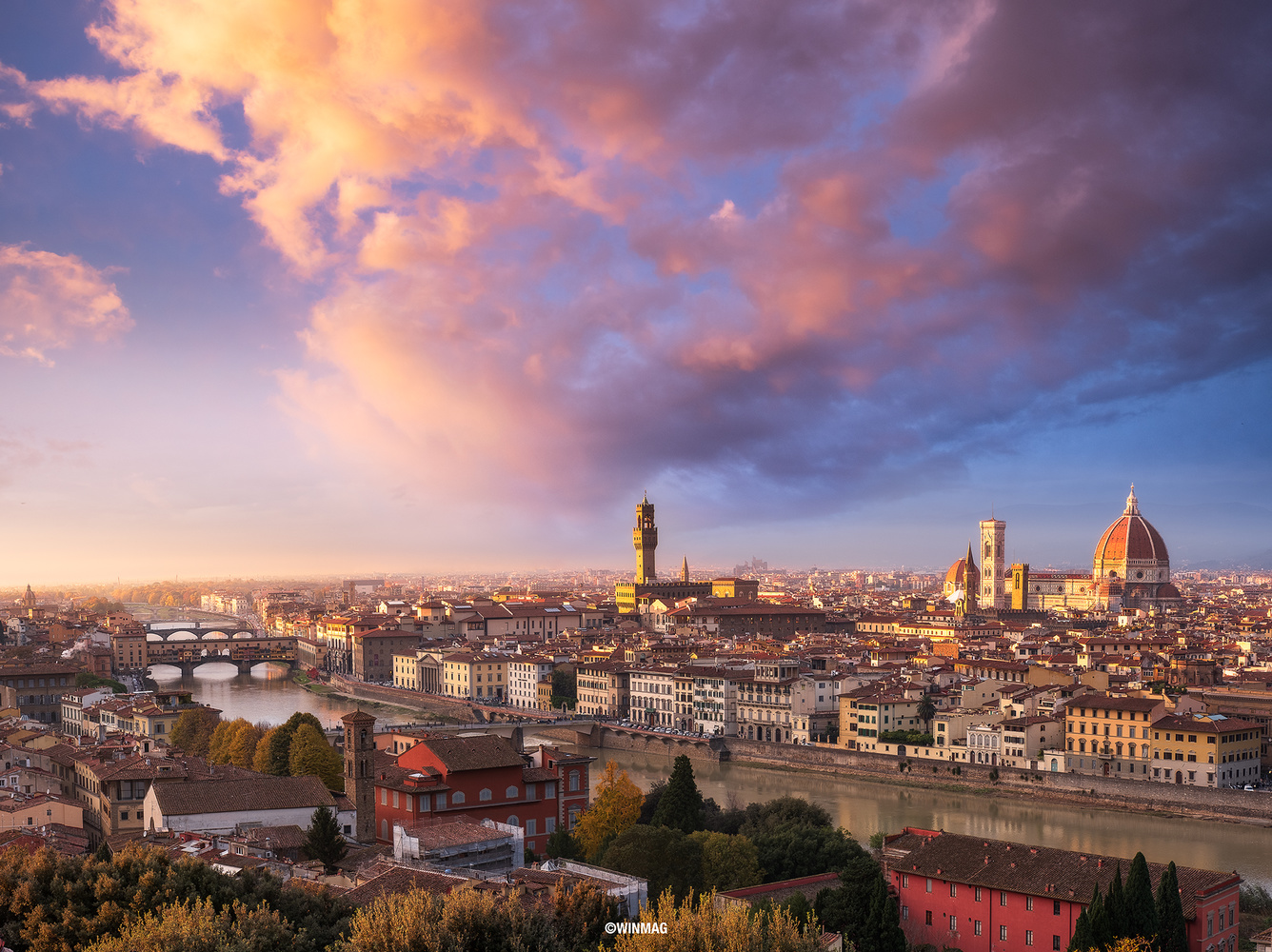 Heart of Florence by Win Mag