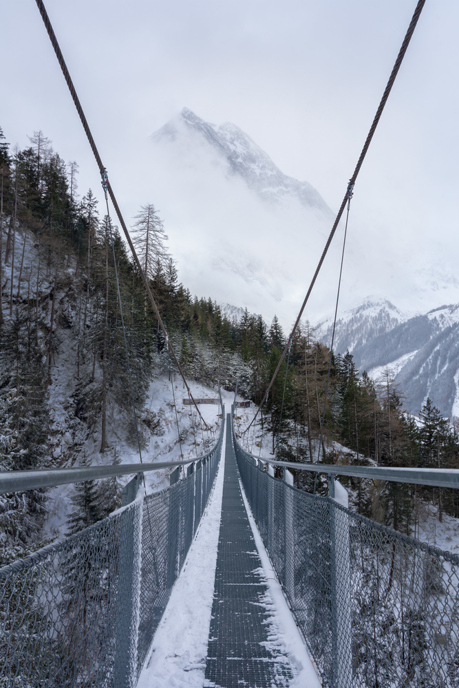Suspended Bridge in Langenfeld, Austria by Patrick Snitjer