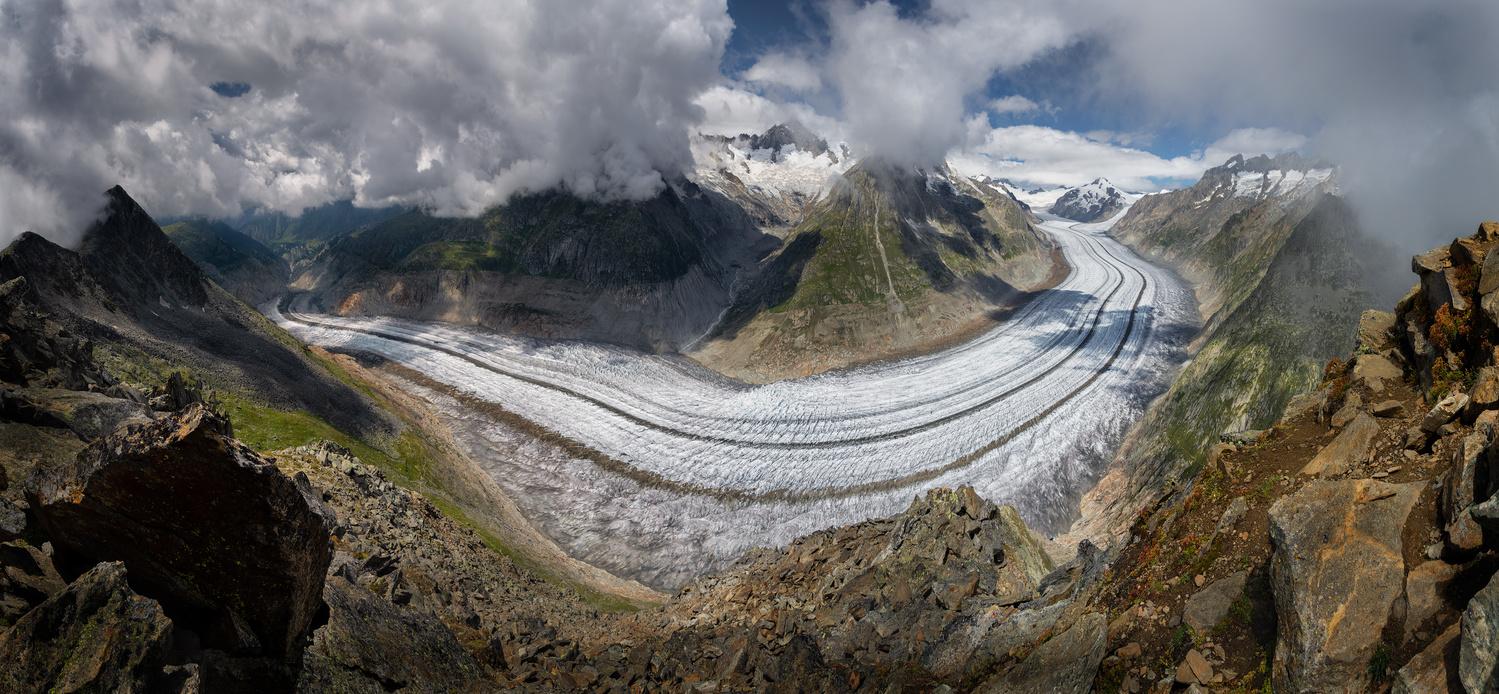 The Aletsch Glacier by Patrick Snitjer