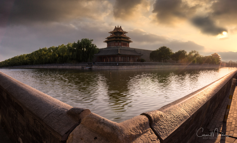 Forbidden City, Beijing, China by Cesar A Mendez Garcia