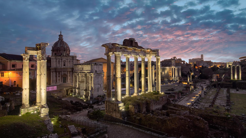 Roman Forum by Cesar A Mendez Garcia