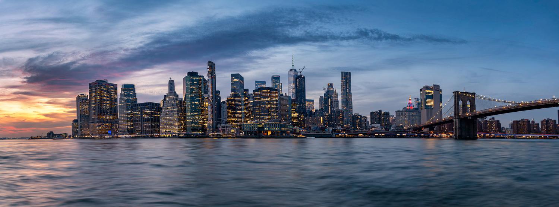 Manhattan by Cesar A Mendez Garcia