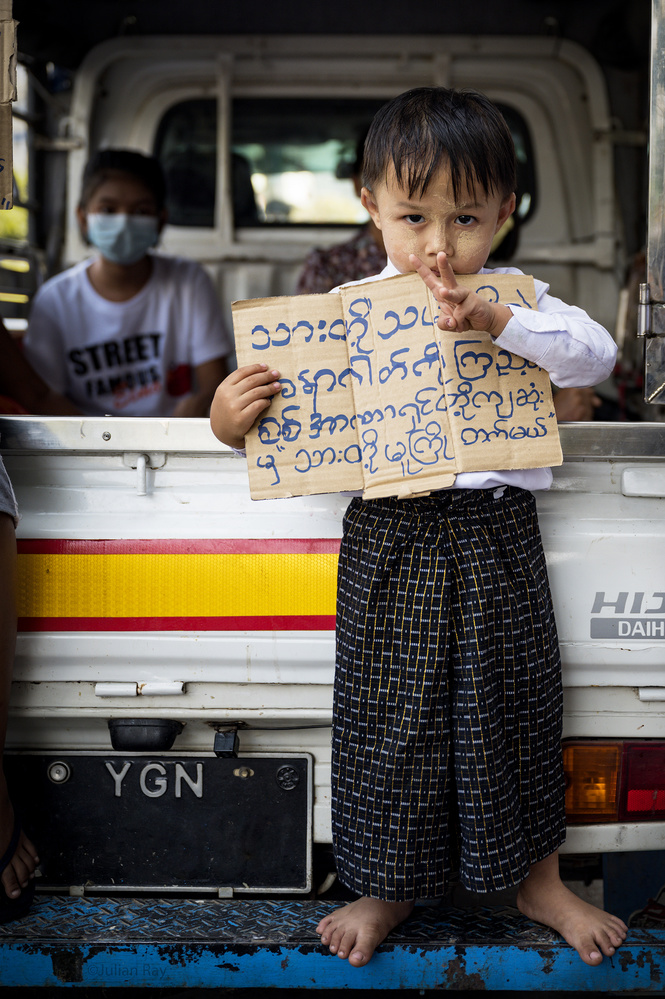 This really is about Myanmar's future. by Julian Ray