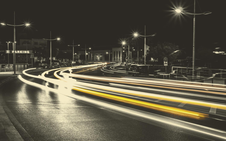 Busy Road by Manos Tsirantonakis