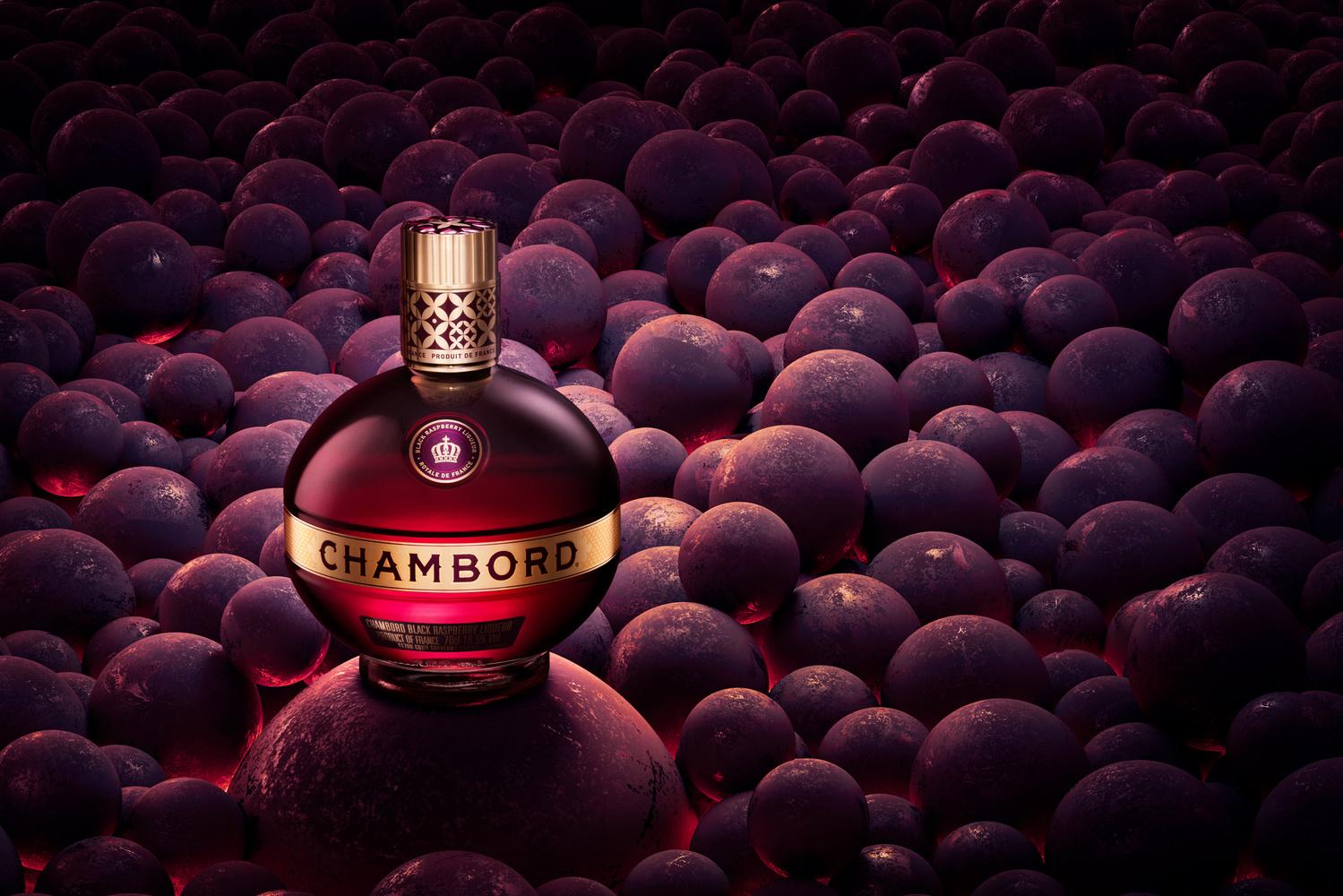 chambord liqueur by Piotr Maksymowicz
