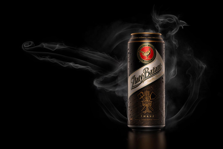 Zlaty Bazant Dark beer by Piotr Maksymowicz