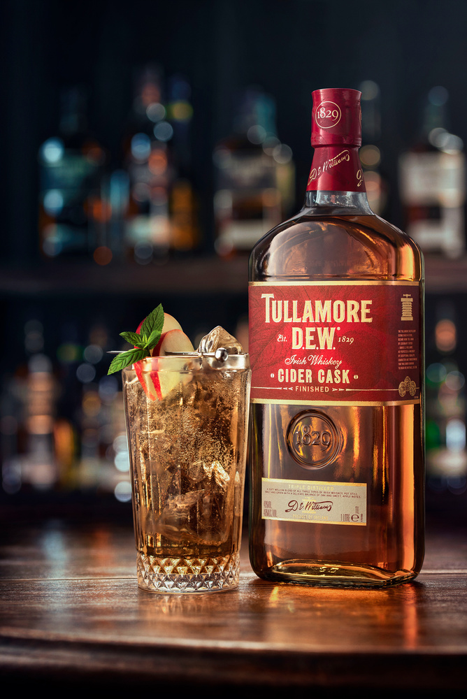 Tullamore D.E.W. Cider cask hero by Piotr Maksymowicz