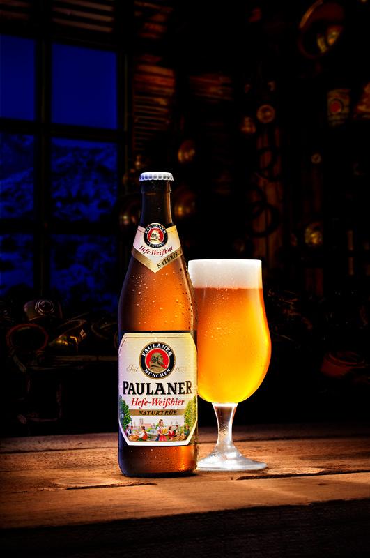 Paulaner beer by Piotr Maksymowicz