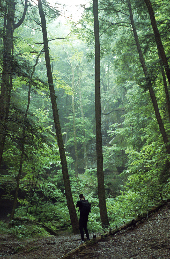 Hocking Hills w/ Taylor by James Madison