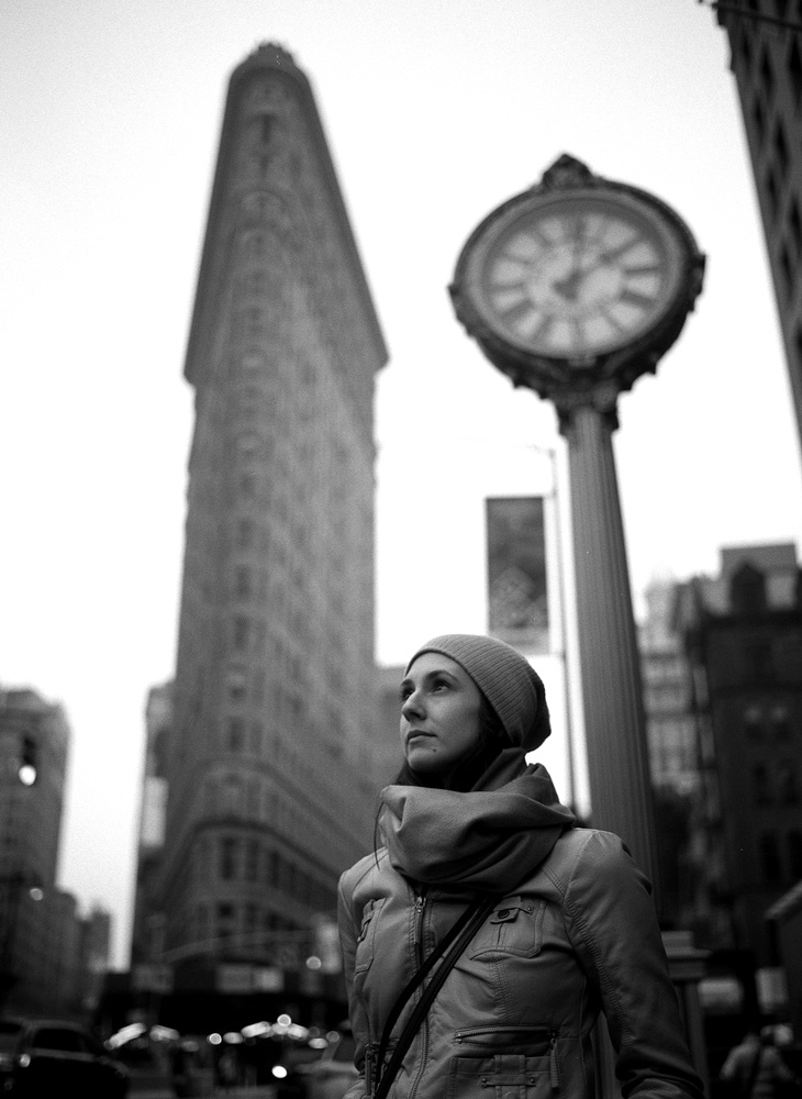 Dr H in NYC - Tri-X by James Madison