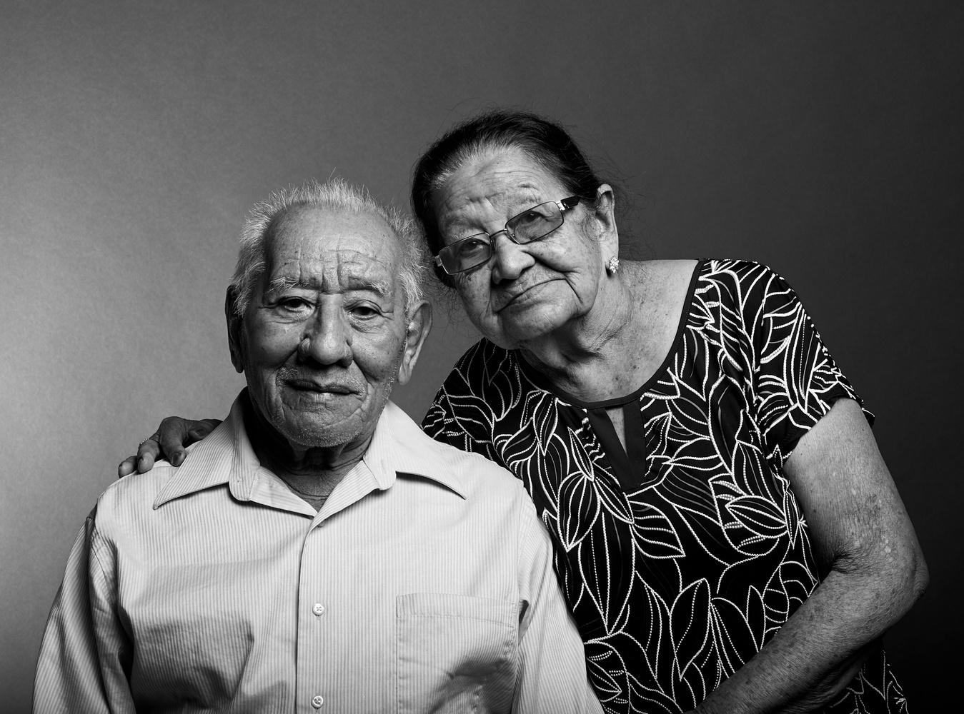 adalberto's parents by Armando Perez