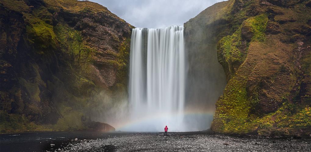 Skogafoss, Iceland by James Stevenson