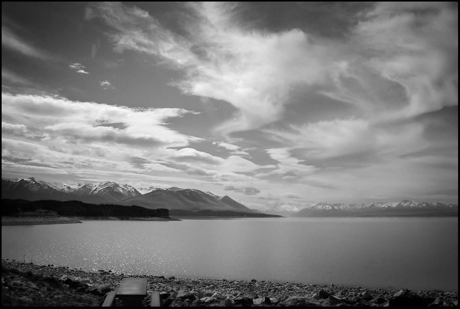 Lake Pukaki, New Zealand by James Stevenson