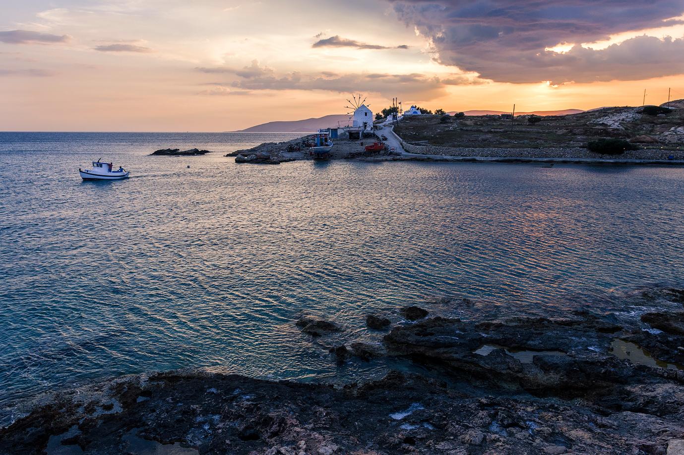 Small Cyclades Island - Greece by Michael Kuszla
