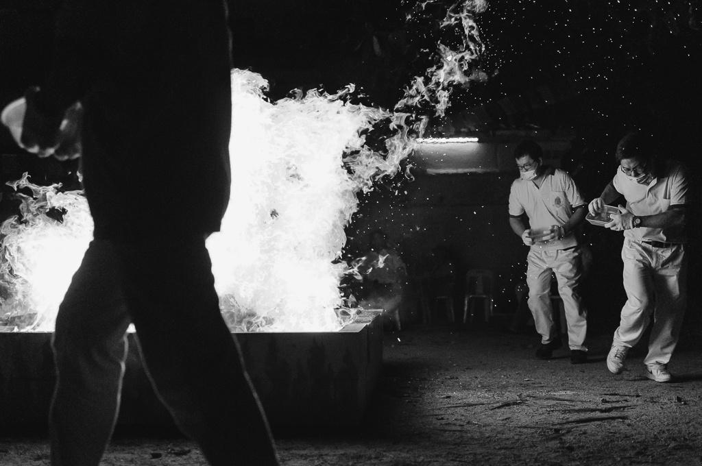 On Fire by Michael Kuszla