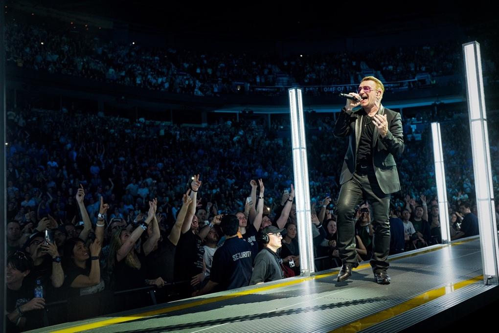U2 Opening Night (Vancouver) by Dimitry Polyakov