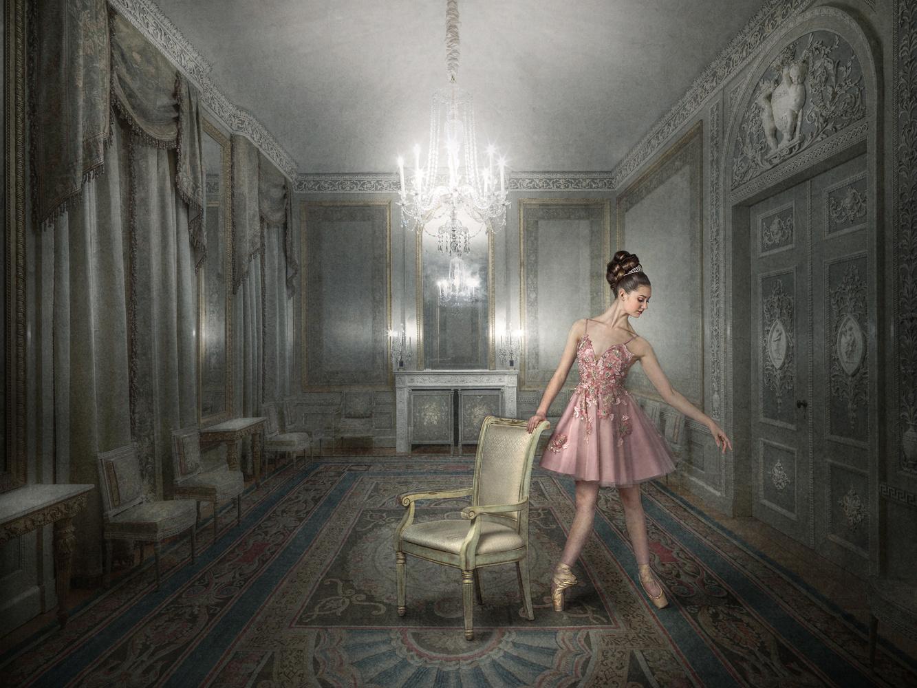 Fantasy and reality often overlap... by Barbara MacFerrin