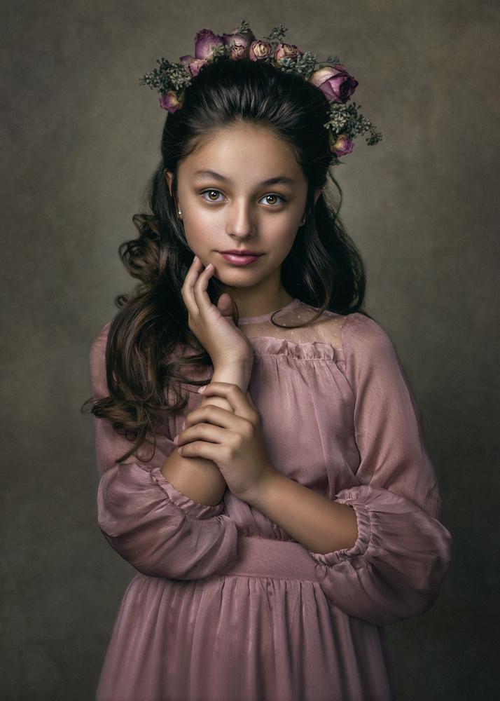 Fine Art Portrait Atiyana by Barbara MacFerrin
