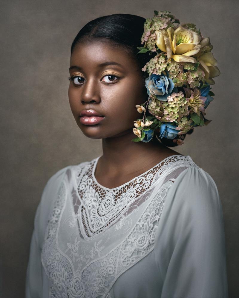 Fine Art Portrait Angela by Barbara MacFerrin