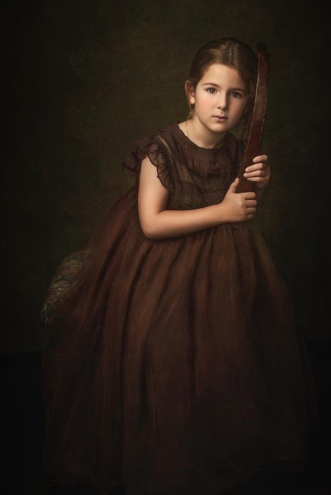 Portrait Adella II by Barbara MacFerrin