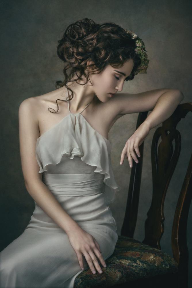 Fine Art Portrait Ahna by Barbara MacFerrin