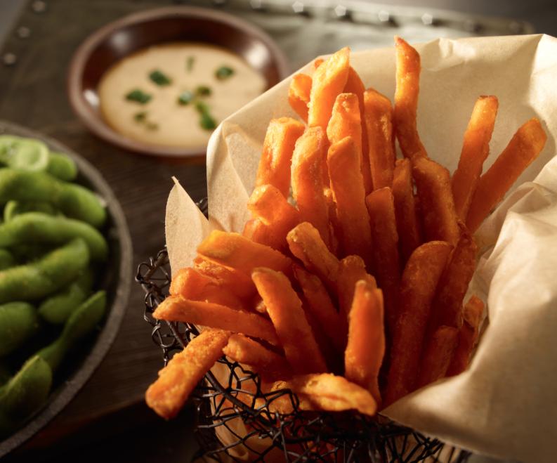 Asian Sweet Potato Fry by Patrick Darby