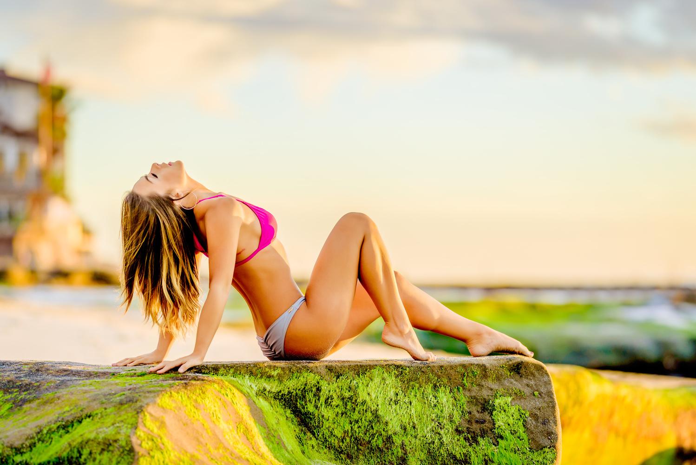 Danielle Beach Shoot by Jim Sloan