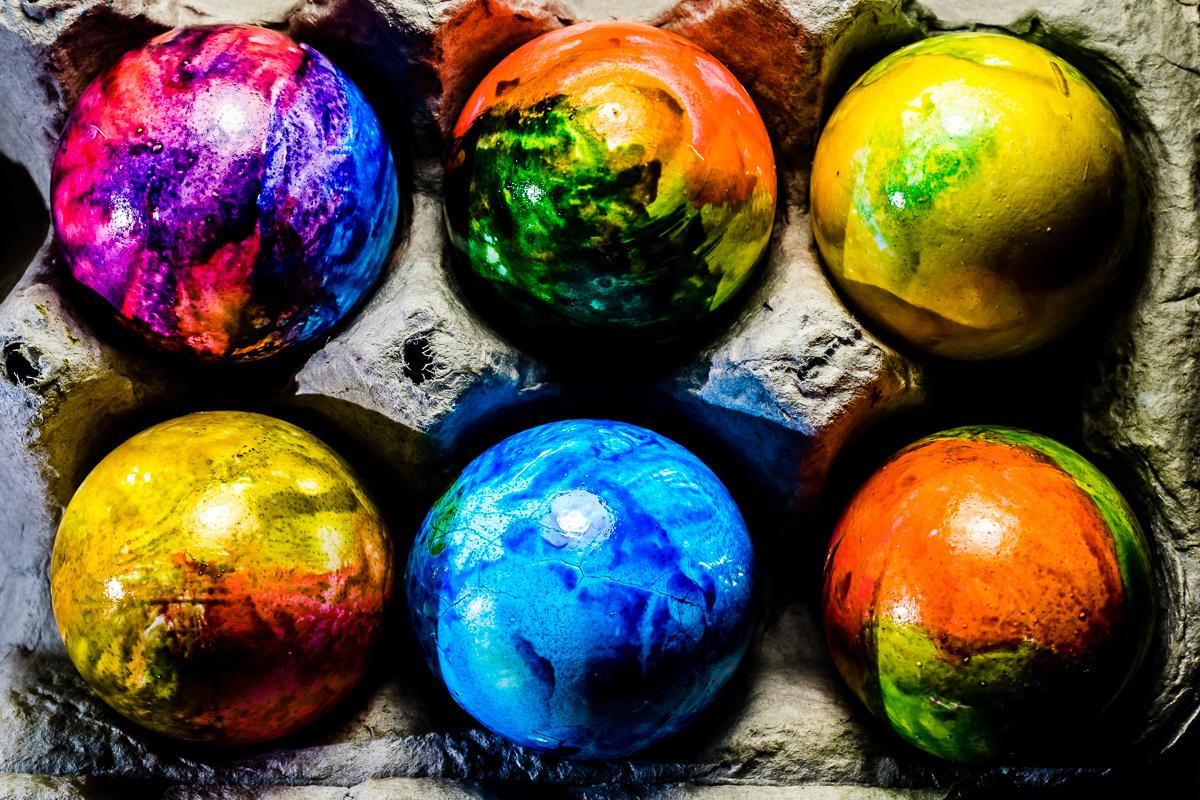 Easter Eggs 2018 by Eileen Novack