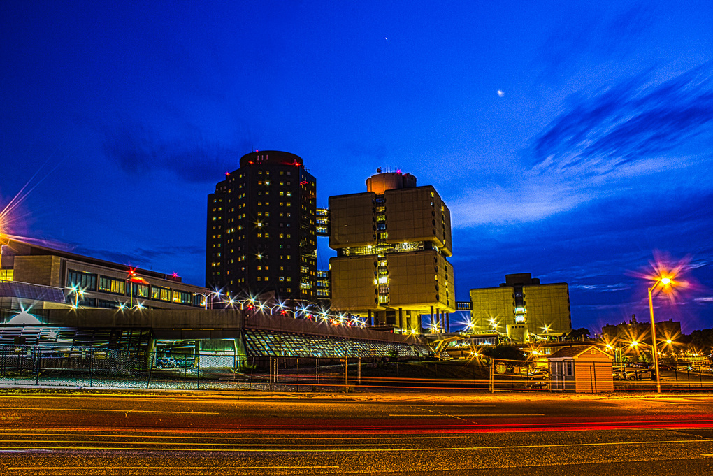 Stony Brook Medical Center by Eileen Novack