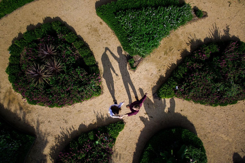 Raleigh Engagement Drone Photographer Paul Seiler by Paul Seiler