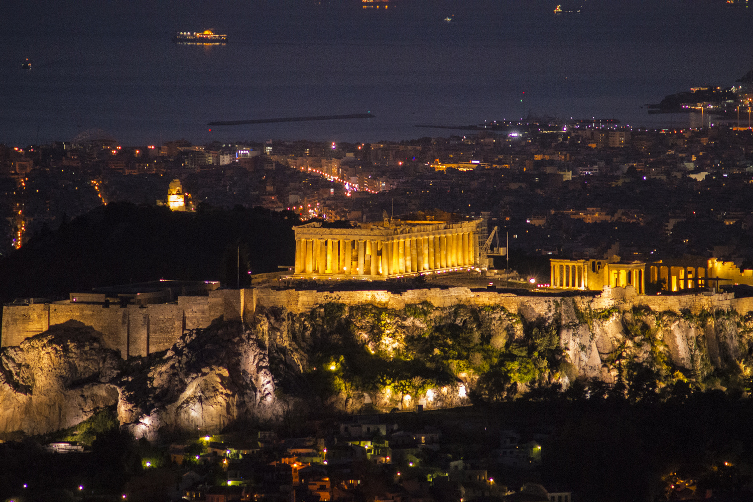 The Magnificent Parthenon of Greece by George Stergiopoulos