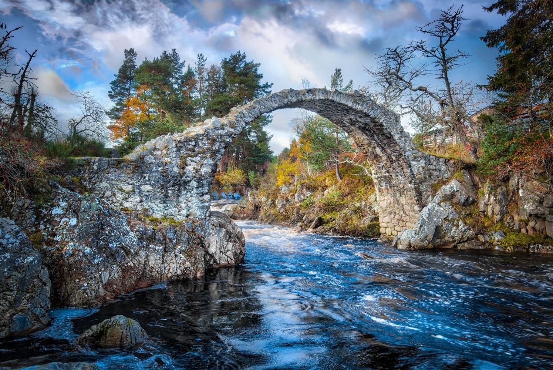Carrbridge Packhorse Bridge by Keir Briscoe