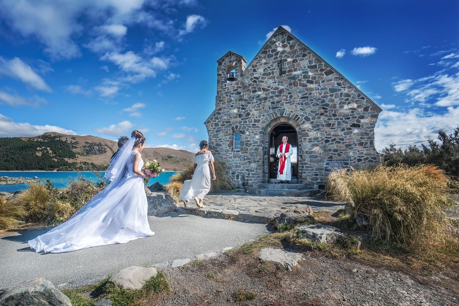 Church of the Good Shepherd Wedding by Keir Briscoe