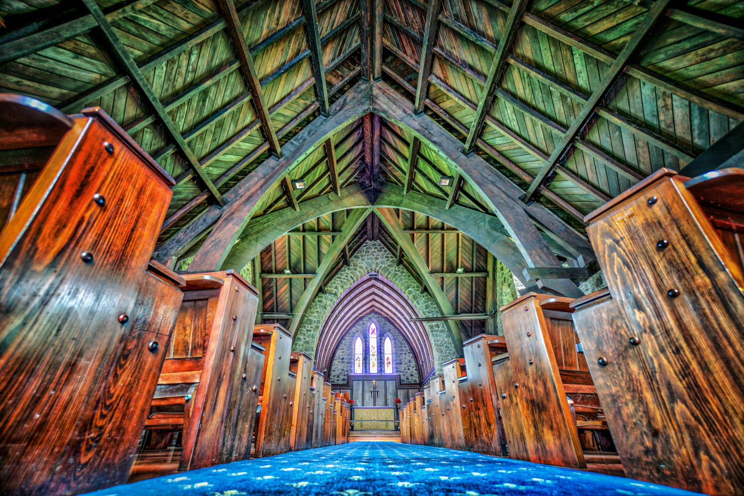 St Paul's Anglican Church by Keir Briscoe