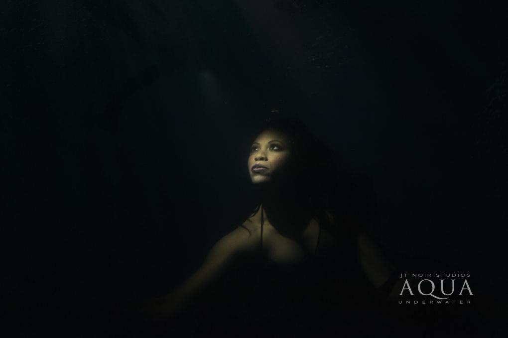 Nighttime Underwater by Jennifer Tallerico