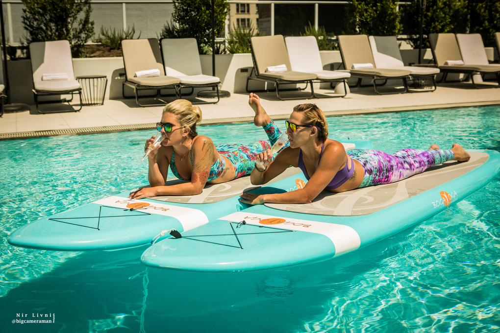 Paddle Board Drinks by Nir Livni