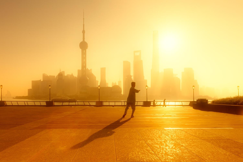 Taichi Sunrise by Brian Ho