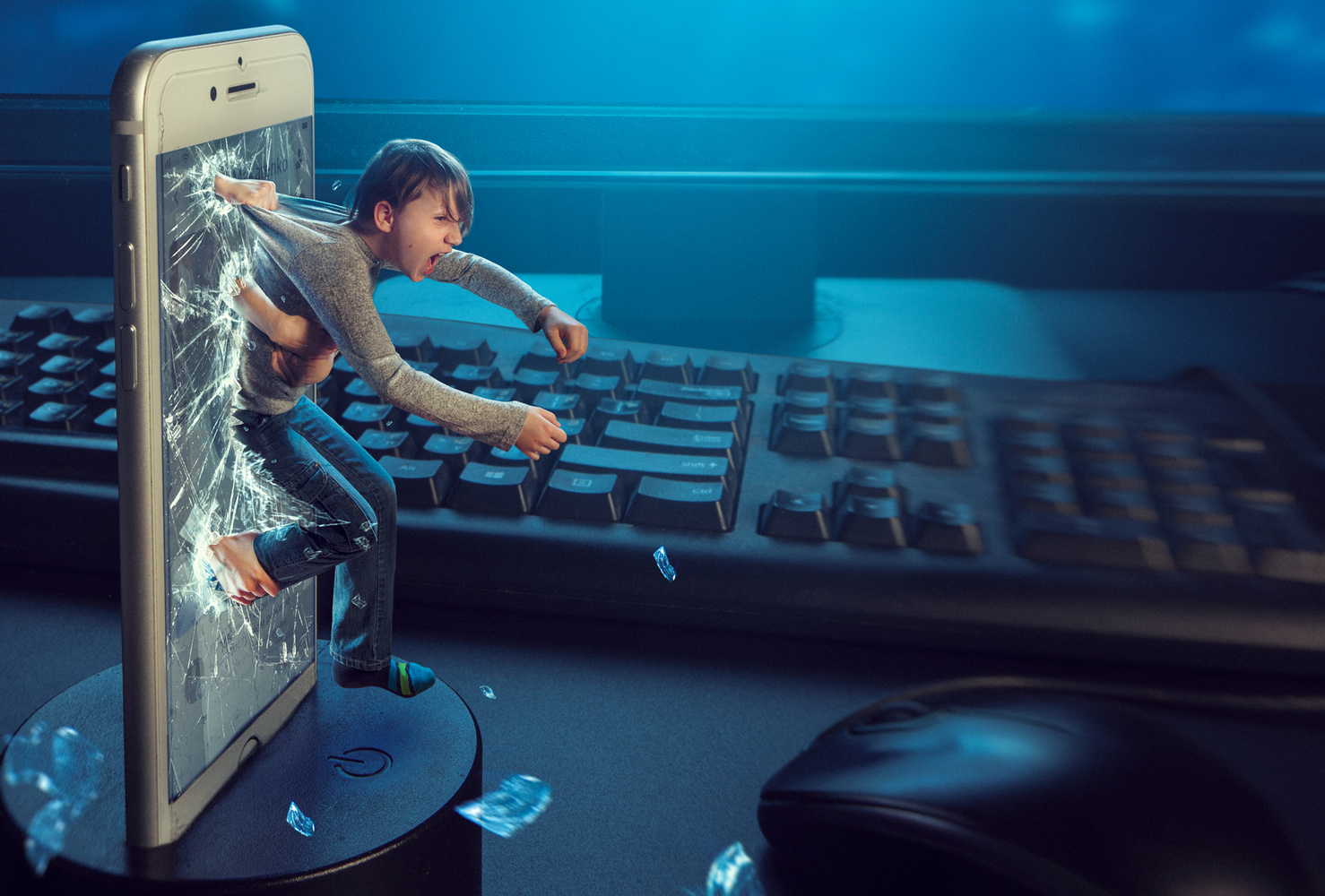 Escape from reality by Evgeny Loza