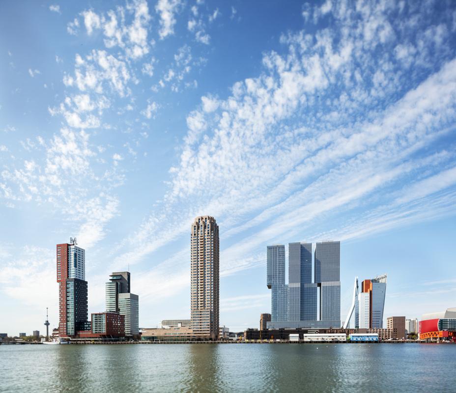 'Kop van Zuid' - Rotterdam by Luc Büthker