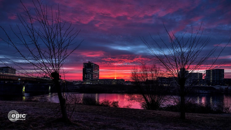 Cold Sunrise by Erick Van Rijswick
